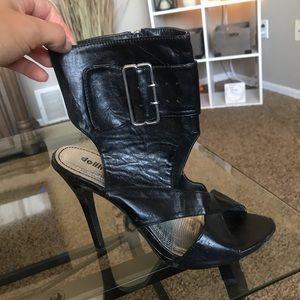 Dollhouse black heels